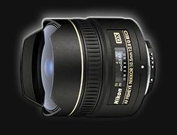 Nikon AF DX Fisheye 10.5mm f/2.8G ED
