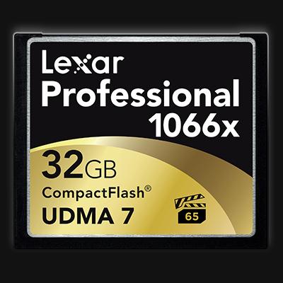 Lexar CompactFlash 1066x