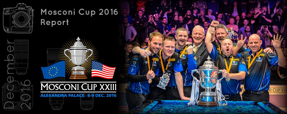 Mosconi Cup 2016 - Behind the scenes
